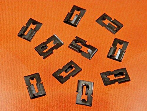 Retro-Motive & up GM Door Lock Rod Clips (Qty 10) #1275