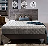 Sleep Innovations Taylor 12-inch Cooling Gel Memory Foam Mattress, Bed in a Box, Made in the USA, 20-Year Warranty - Full Size