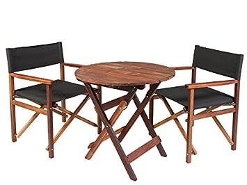 MaximaVida \'ANTRO\' Ensemble de meubles de jardin en bois dur ...