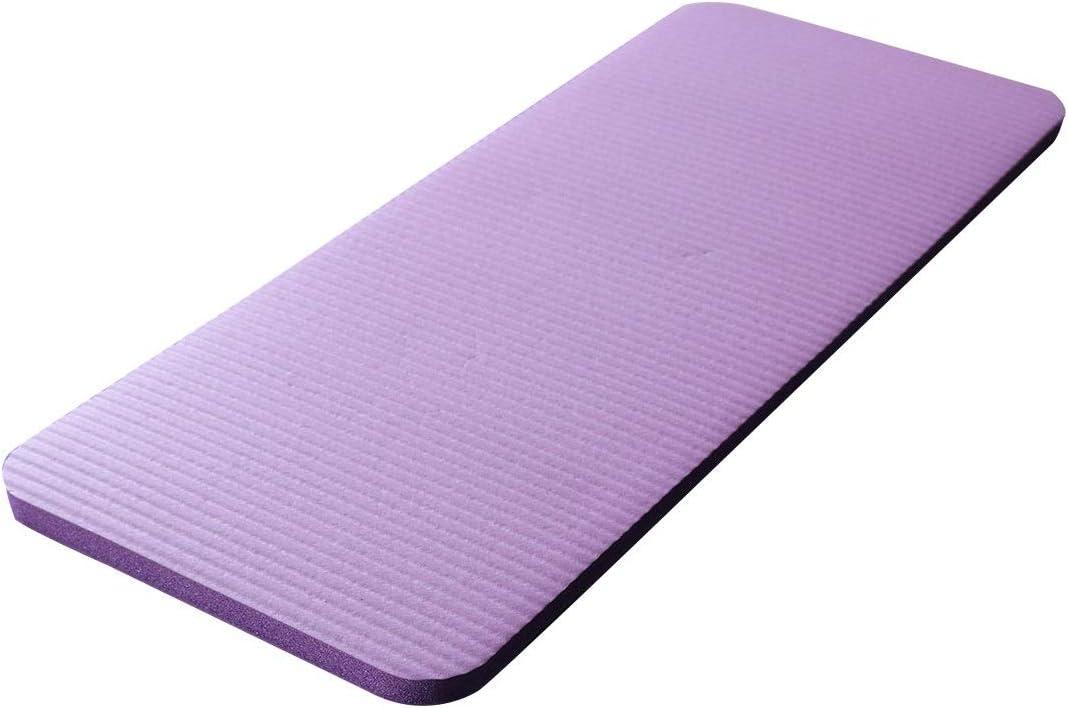 WanXingY 60x25x1.5cm Yoga Mat Gimnasio de Fitness for Principiantes colchonetas de Gimnasia Plegable colchón Amortiguador del Codo Deportes Mat Interior de Culturismo de ratón 07 (Color : Purple)