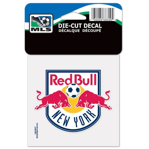 "SOCCER New York Red Bulls Perfect Cut Color Decal, 4"" x 4"""