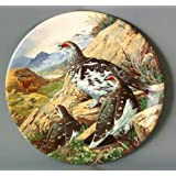 Braithwaite Game Bird Collection plate - Flock of Ptarmigan