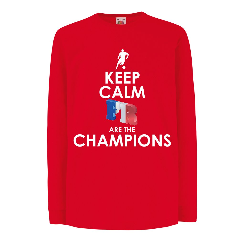 12-13 Years Red Multi Color Russia Championship 2018 Kids Boys//Girls T-Shirt French are The Champions World Cup Soccer Team of France Fan Shirt