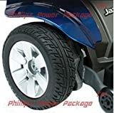 Pride Mobility - Jazzy Select Elite - Front-Wheel Drive Power Chair - Jazzy Blue - PHILLIPS POWER PACKAGE TM - TO $500 VALUE