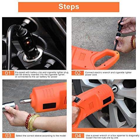 100% D'Origine Clé à chocs électrique Fydun 420N.M 12V Kit d'outils professionnel portable haute torsion pour le changement de pneu  1fXHu