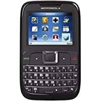Motorola MotoGO! EX430 Unlocked GSM Phone w/ Full QWERTY Keyboard - Black (Certified Refurbished)