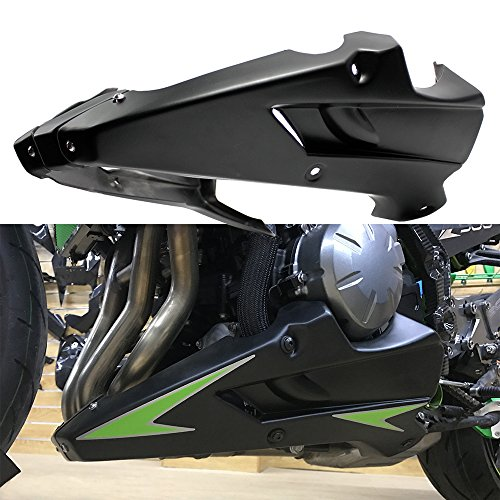 XX eCommerce Motorcycle Motorbike Body Frame Kit Engine Bellypan Spoiler Fairing Kits Lower Panel Cover for kawasaki Z900 ABS 2017-2018 - Fairing Lower Panel