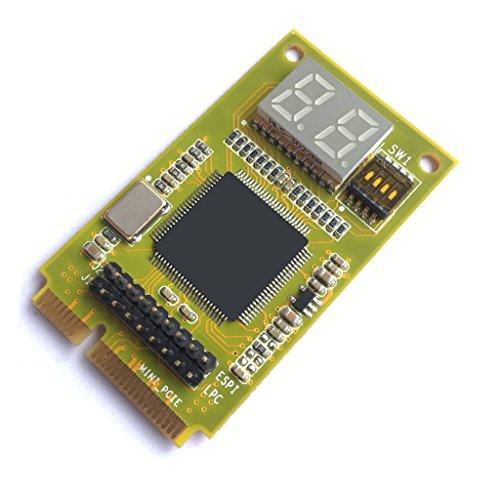Funtin ESPI / LPC Port 80/84 Mini PCIE Debug Card