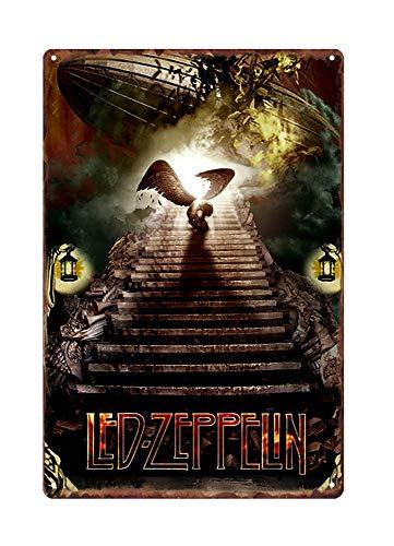 WholesaleSarong Led Zeppelin Rock Band Metal tin Sign Metal Plaque Congratulations Plaque