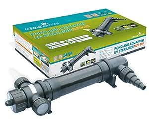 All Pond Solutions - Clarificador / Esterilizador UV de Agua de Estanque & Pecera - CUV