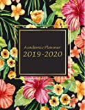 "Academic Planner 2019-2020: Beauty Flowers Book, 8.5"" x 11"" Two year Planner Academic 2019-2020 Calendar Book Weekly Monthly Planner, Agenda Planner, ... Journal Notebook (24 Months Calendar Planner)"
