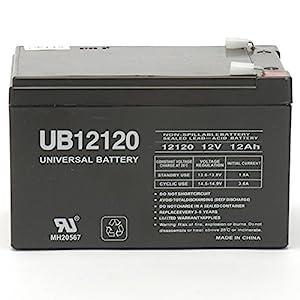 amazon com razor dirt bike mx500 replacement battery ub12120 12v razor dirt bike mx500 replacement battery ub12120 12v 12ah 12volt sla battery