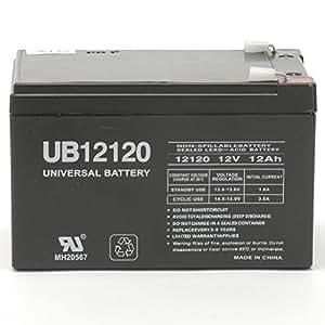 WKA12-12F2 Replacement Battery 12 volt 12ah F2 terminals