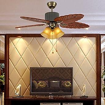 Restaurante chino, ventilador de techo, lámparas de bronce home ...
