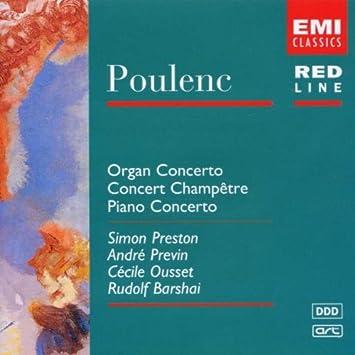 Poulenc:Organ/Piano Conce