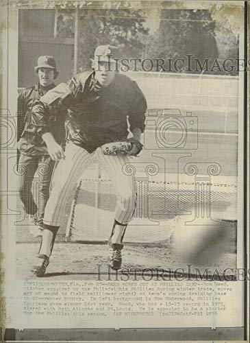 - Vintage Photos 1976 Press Photo Ron Reed,Philadelphia Phillies Pitcher