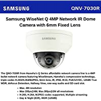 Samsung/Hanwha Techwin QNV-7030R 4MP Outdoor Dome with IR