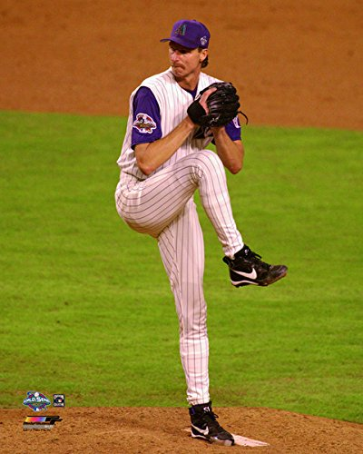 Randy Johnson Arizona Diamondbacks MLB World Series Photo (Size: 8