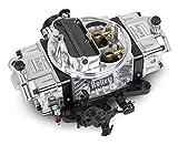 Holley 0-76650BK 650 CFM Ultra Double Pumper Four Barrel Street/Strip Carburetor - Black