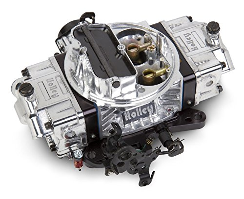 Holley 0-76650BK 650 CFM Ultra Double Pumper Four Barrel Street/Strip Carburetor - Black