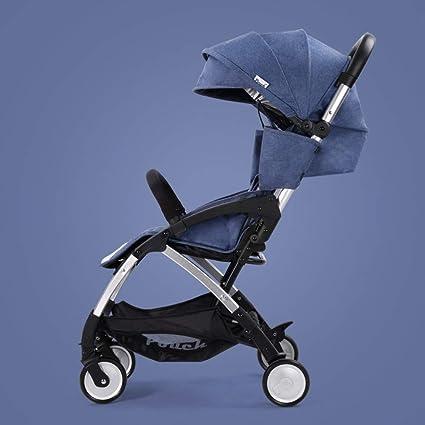 Plegable Silla de paseo Cochecito de bebé para correr Ligero ...