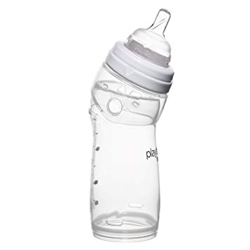 Playtex Baby Nurser Bottle with Disposable Drop-Ins Liners, for Breastfed Babies, 8 Ounce Bottles, 3 Count