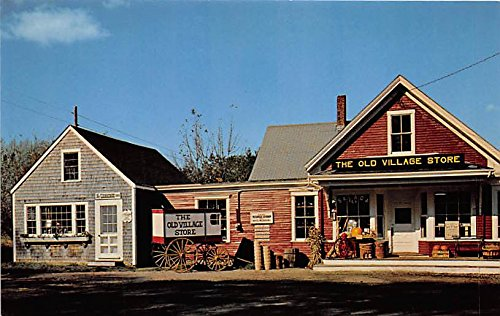 The Old Village Store Cape Cod West Barnstable Massachusetts - Village Store West Card