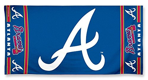 Atlanta Braves Beach Towel - Around Malls Atlanta