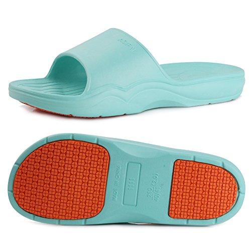 Floor Sandal Beach Shoes Bedroom for 01lake Slipper Casual Blue Bath Premium Shower Anti Slippers EQUICK Dorms Swim Slip Unisex zRqZv