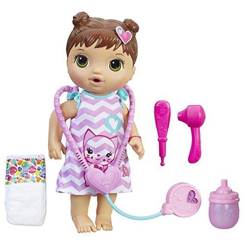 Boneca Baby Alive Cuida De Mim, Hasbro, Morena