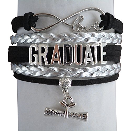 Infinity Collection Graduation Jewelry, Class of 2018 Graduate Bracelet- Perfect Graduation Gift- (10 Colors) by...