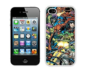 Beautiful And Unique Designed Case For iPhone 4 With Spider Man Foes (2) Phone Case