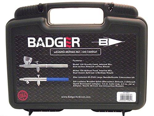 Badger Air-Brush Co. 100-150BGF Nail Flair Fingernail Airbrush Paint Licorice