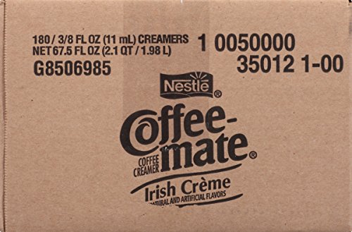 NESTLE COFFEE-MATE Coffee Creamer, Irish Creme, liquid creamer singles, 180 Count by Nestle Coffee Mate (Image #2)