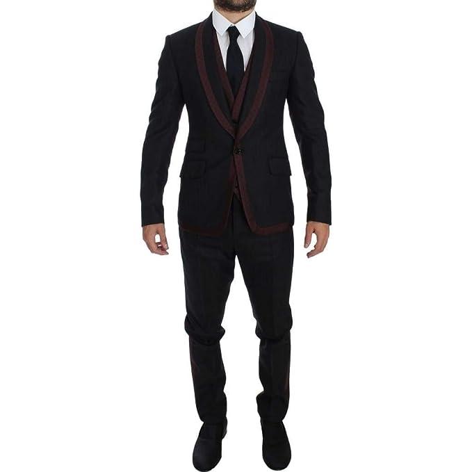 Dolce   Gabbana - Abito - Uomo Gray M  Amazon.it  Abbigliamento 56a7006c1ed