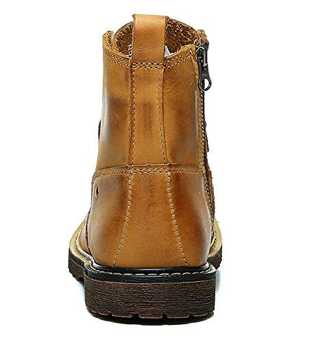 Insun ,  Herren Chukka Boots Yellowish Brown