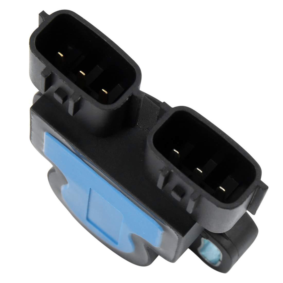 X AUTOHAUX 23731-6J90B 23731-AL61A Camshaft Crankshaft Sensor Kit for Nissan 350Z Altima