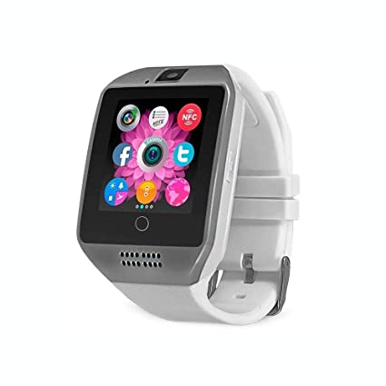 Amazon.com: techcomm Q18 y GSM Unlocked Smartwatch con ...