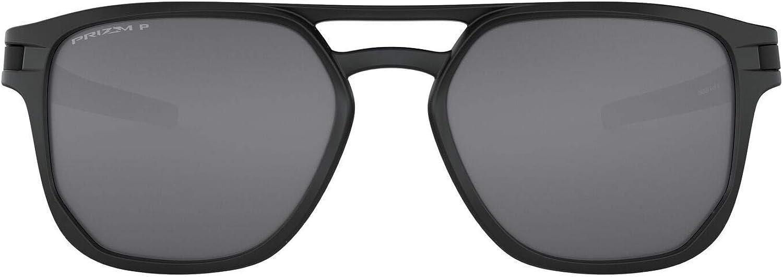 topo restate Dramma  Amazon.com: Oakley Men's OO9436 Latch Beta Sunglasses, Matte Black/Prizm  Black Polarized, 54 mm: Shoes