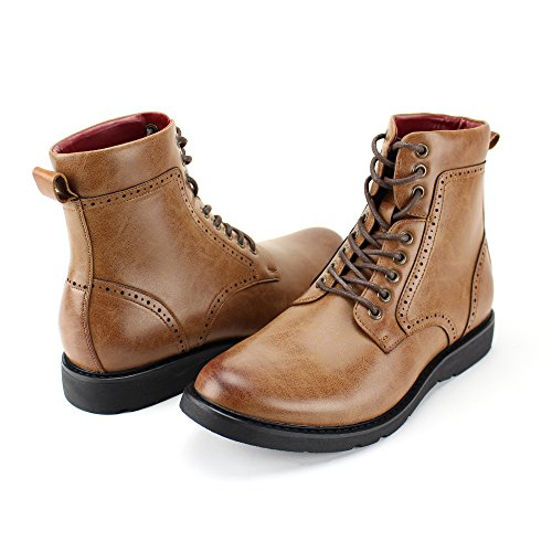 and 718 Casual Lightweight Comfortable 4 3 Fashion Style Boots Tan 6718 Boots rqanafO