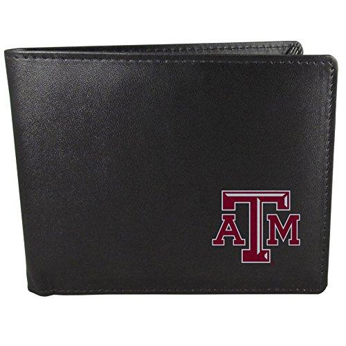 Siskiyou NCAA Texas A&M Aggies Bi-Fold Wallet, Black