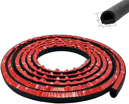 D Type Rubber Seal Strip Guard Strip Hollow Weather Stripping for Car Van Truck Door Bonnet Boot Edge Trim Rubber Seal 4M//13ft Car Door Edge Protector