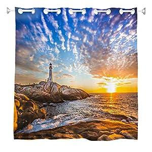 51uVqXv4yFL._SS300_ 200+ Beach Shower Curtains and Nautical Shower Curtains