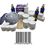 Cheap Sugaring Start up Big Kit , 1 Sugar Wax Warmer + 6 Jars of 22 Oz Each Standard Sugaring Hair Removal 100% Natural Paste (Standard Sugaring to Use with Hands or Spatula or Strips) + 3 Jars of 12 Oz Each of Soft Sugaring (To Use with Strips) + 1 Jar 12 Oz of Solid Sugaring + 12 Wood Spatulas + 8 Oz Azulene Oil to Decrease Hair Thickness and Irritation + 12 Oz Sterilized Sugaring Powder + 200 Sugar Wax Strips + 8 Oz After Sugaring Toner + 8 Oz Before Sugaring Cleanser