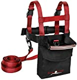 Lucky Bums Kid's Ski Trainer Harness, Red/Black