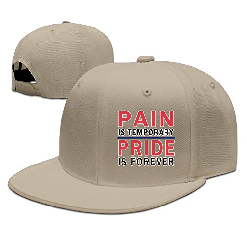 Pain Is Temporary Pride Is Forever Flat Bill Baseball -