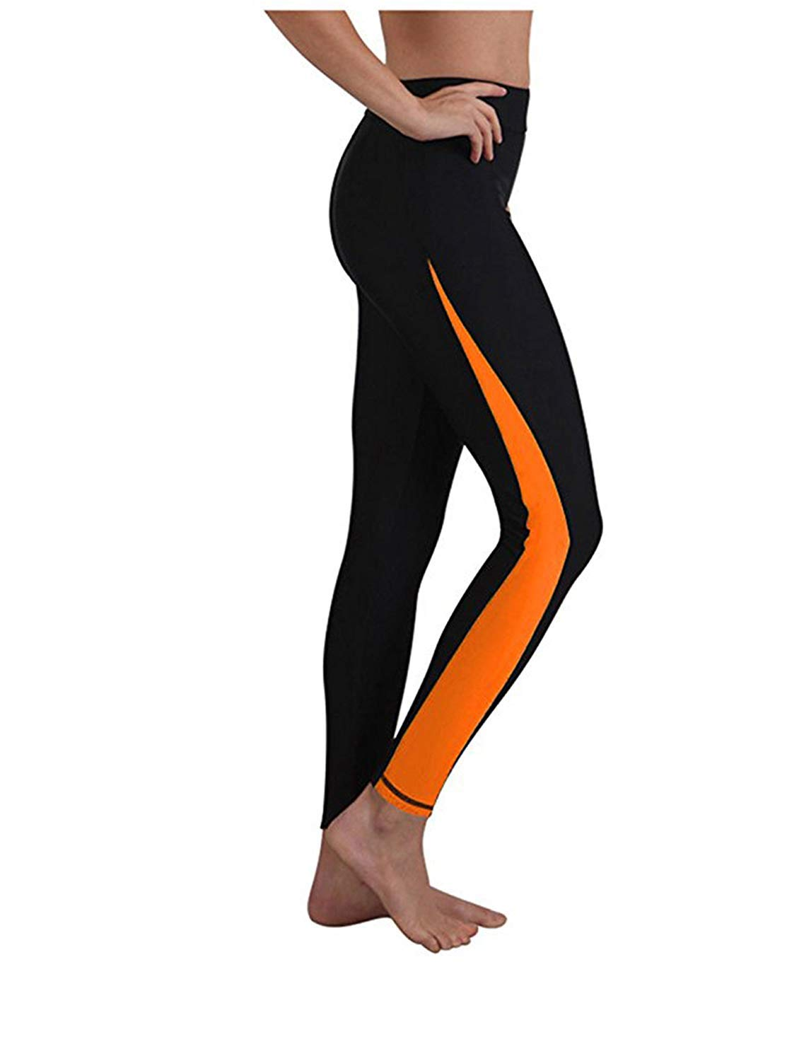 Little Beauty Surfing Leggings Swim Tights for Women, Wetsuit Pants Sun UV Protection, Comfortable and Quick Dry, Perfect for Diving, Snorkeling, Canoeing, Swimming by Little Beauty