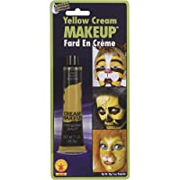 Maquillaje de disfraces en crema amarilla