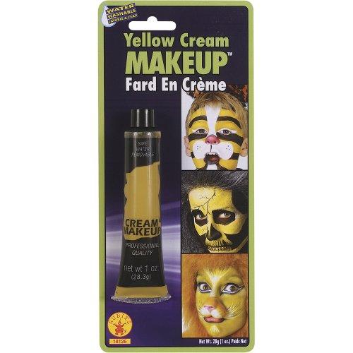 Yellow Cream Fancy Dress Makeup]()
