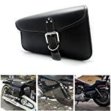 Pu Leather Sadlebag Left Side Swingarm Side Bags Tool Bags for Sportster 1200